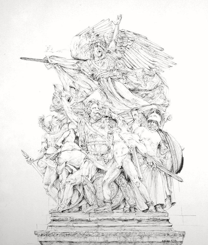 Arc de Triomphe, Révolution et Victoire 2